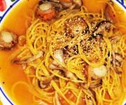 魚介とバジリコのスープスパゲティー